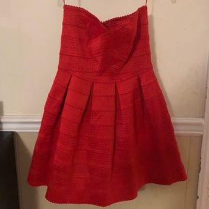 Sans Souci Strapless Cocktail Dress, Size Medium